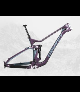 Devinci Devinci, Troy Carbon 27 Frameset, Purple/Turquoise, S