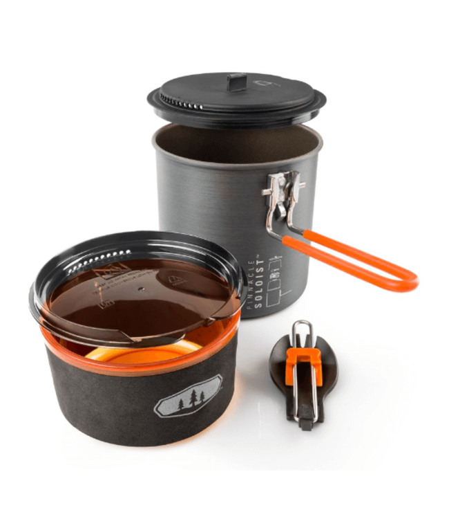 GSI Outdoors GSI Outdoors, Pinnacle Soloist 2, 1-person Cookset