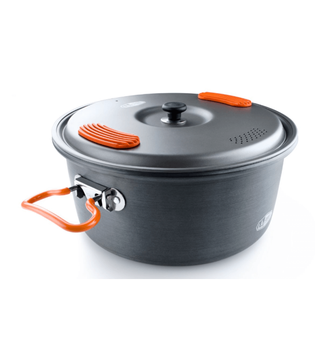 GSI Outdoors GSI Outdoors, Halulite 3.2L Cook Pot, Gray