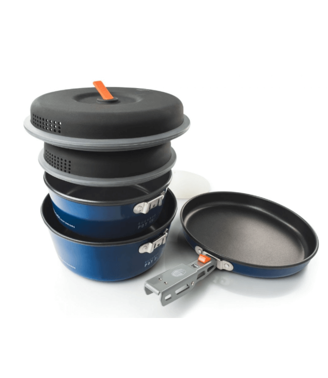 GSI Outdoors GSI Outdoors, Bugaboo Base Camper Cookset, S, Blue