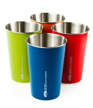 GSI Outdoors GSI Outdoors, Glacier Stainless Pint Set, Multi