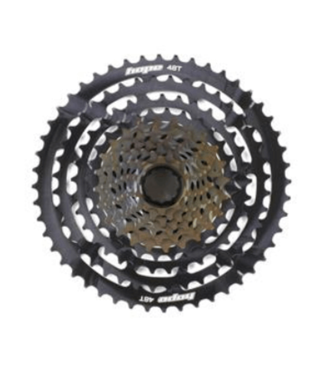 Hope, Part Hub Cassette, 11spd 10-48T, Black