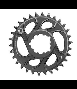 SRAM SRAM, X-SYNC 2 Steel 3mm, Chainring, Teeth: 34, Speed: 11/12, BCD: Direct Mount, Single, Steel, Black, New Takeoff