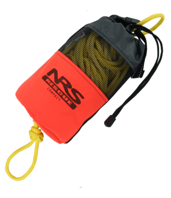 NRS, Compact Rescue Throw Bag, Orange