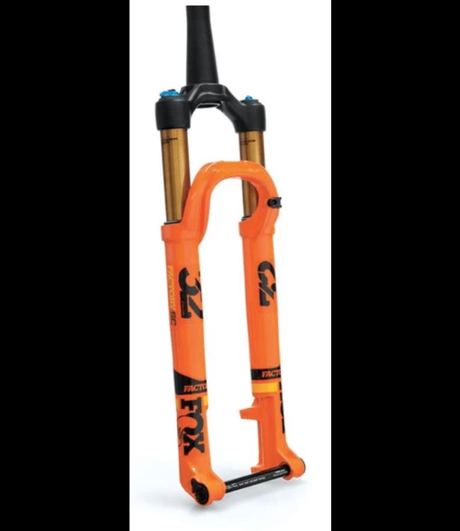 "FOX, 2019 32 Float, FS SC K 27.5"" 100mm Kabolt110 FIT4 Remote-Adj 44mm Rake, Shiny Orange"