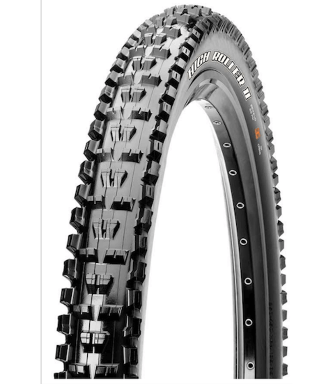 Maxxis Maxxis, High Roller ii, Tire, 29''x2.50, Folding, Tubeless Ready, 3C Maxx Terra, Double Down, Wide Trail, 120x2TPi, Black