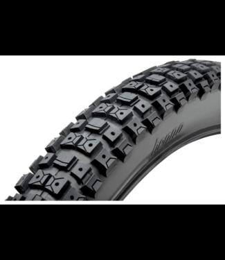 """Benno Bikes Benno Bikes, Knobby Dirt Tire, 60 PSI, 24""""x 2.5"""""""