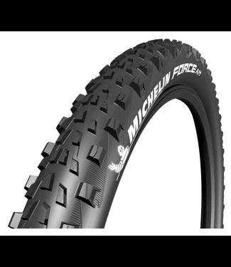 Michelin, Force AM Comp, Tire, 27.5''x2.35, Folding, Tubeless Ready, GUM-X, 60TPI, Black