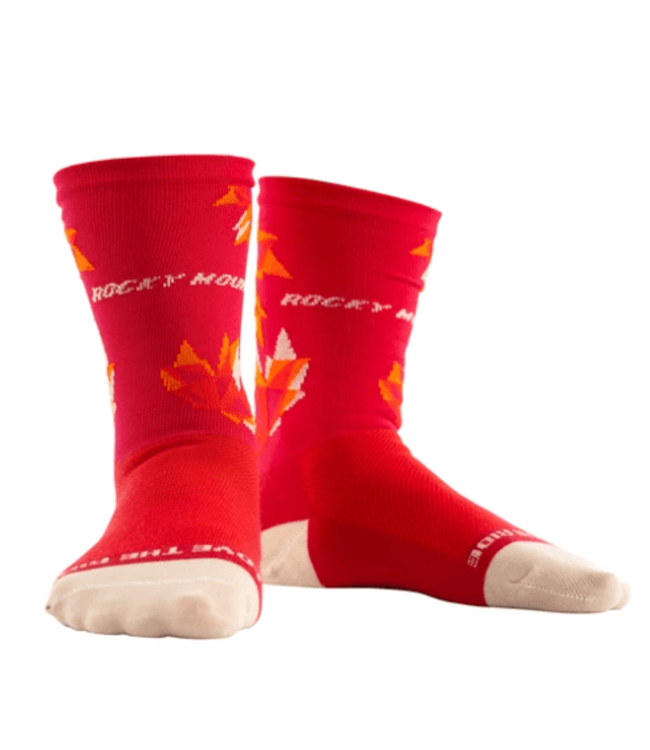 Rocky Mountain Bicycles Rocky Mountain, Maple Leaf Socks