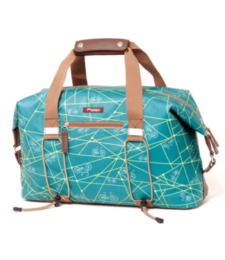 PO Po Campo Bike Share Bag, Emerald Blue