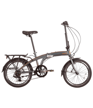 EVO EVO, Vista Folding City Bicycle, Chelsea Gray, Universal One-Size