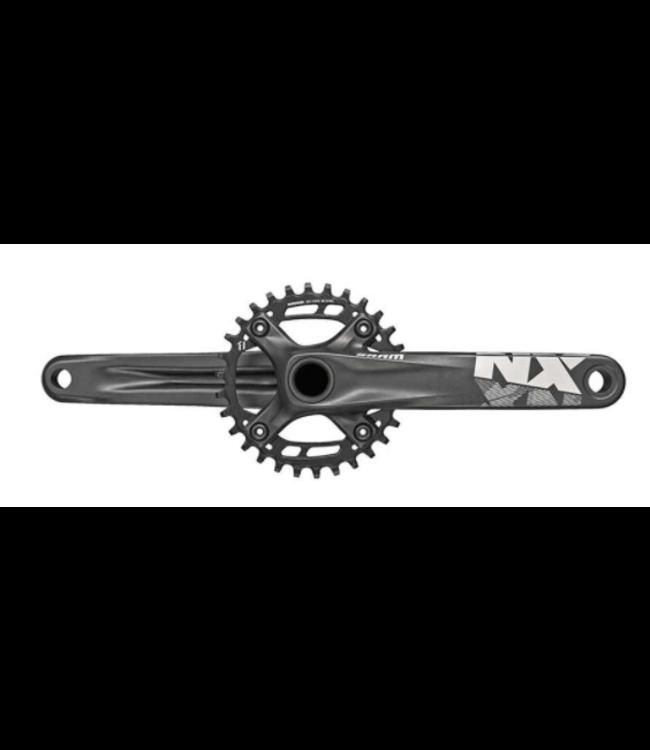 SRAM SRAM, NX, Crankset, 11 sp., 155mm, 32T, BCD:94mm, GXP, 49mm, Black