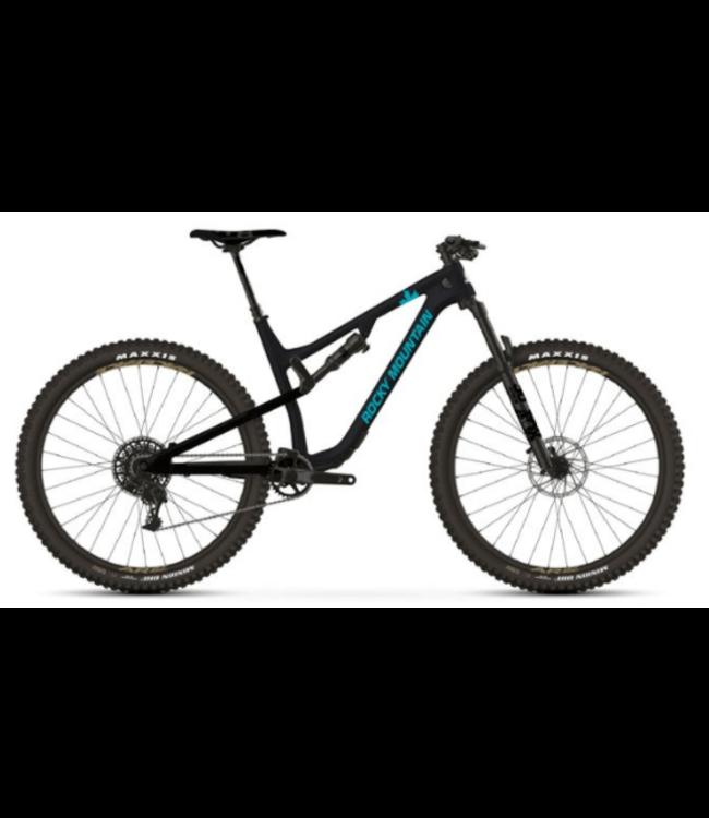Rocky Mountain Bicycles Rocky Mountain, Instinct C50 BC Ed, Custom, 2020, Black/Blue, M