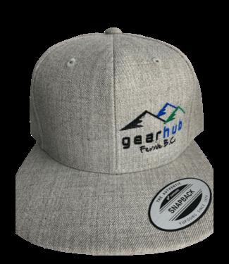 GearHub, Classic Snapback with Logo / Gray