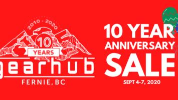 10-Year Anniversary Mega Sale!
