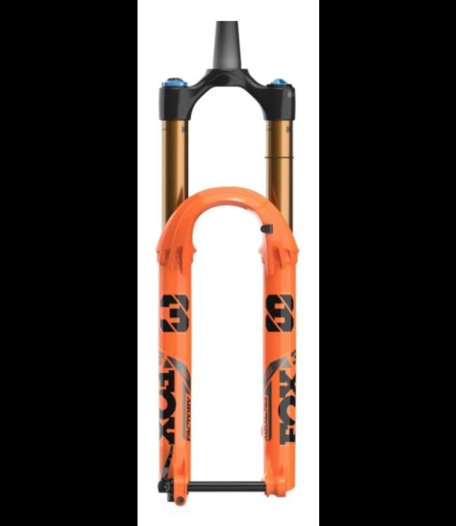 "FOX, Float 38 2021, FS K 27.5"" 180mm Grip 2 110 44mm Rake, Shiny Orange"