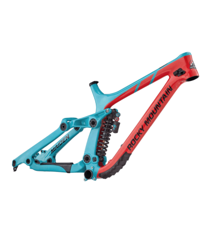 Rocky Mountain Bicycles Rocky Mountain, Maiden Carbon Frame, Medium, Rd/Tur, 2018