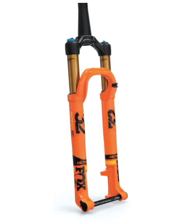 "FOX, 2019 32 Float, FS SC K 27.5"" 100mm Kabolt110 FIT4 3Pos 44mm Rake, Shiny Orange"