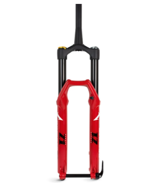 """Marzocchi, Bomber Z1 2020, 27.5"""" 180 110 Grip, 44mm Offset, Red"""