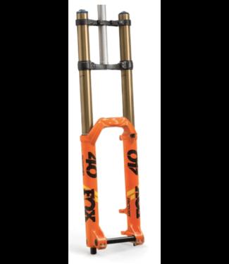 "FOX, Float 40 2020, FS K 27.5"" 203mm 20x110 GRIP2 1.125 52mm Rake, Shiny Orange"