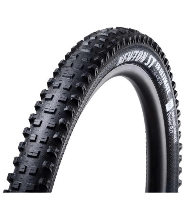 Goodyear, Newton-ST, Tire, 27.5''x2.40, Folding, Tubeless Ready, Dynamic:RS/T, DH Ultimate, 240TPI, Black