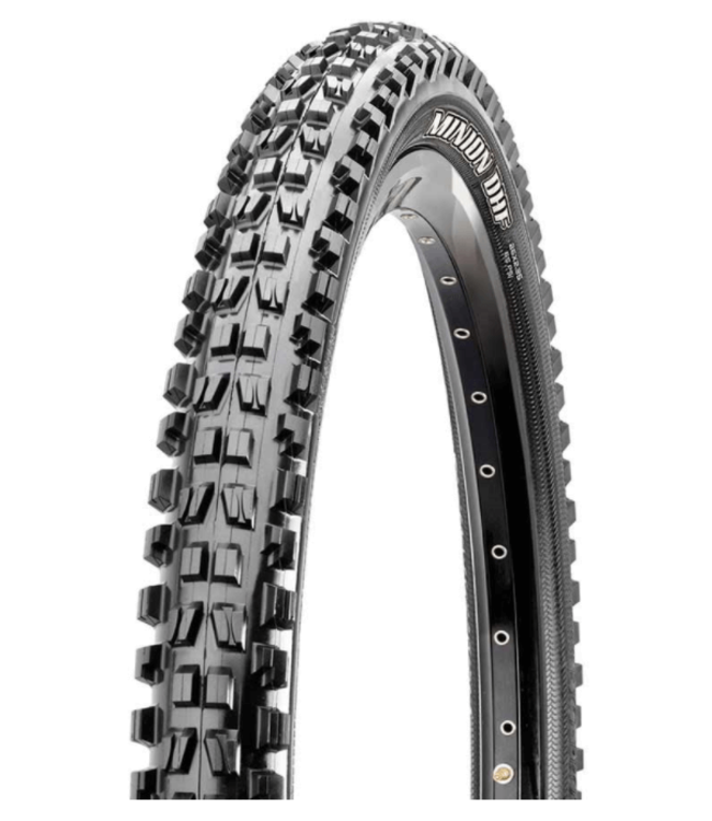 Maxxis Maxxis, Minion DHF, Tire, 29''x2.30, Folding, Tubeless Ready, Dual, EXO, 60TPI, Black
