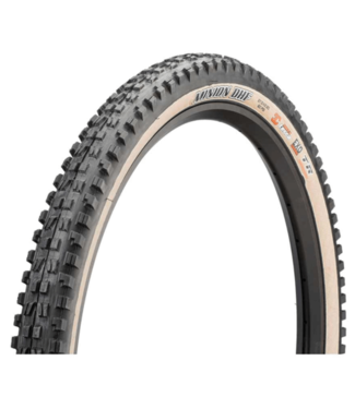 Maxxis Maxxis, Minion DHF, Tire, 29''x2.50, Folding, Tubeless Ready, Dual, EXO, Wide Trail, 60TPI, Tanwall
