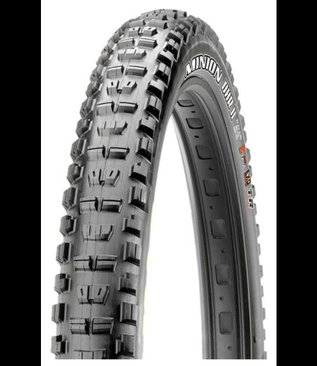 Maxxis Maxxis, Minion DHR2, Tire, 27.5''x2.30, Folding, Tubeless Ready, 3C Maxx Terra, Double Down, 120x2TPI, Black