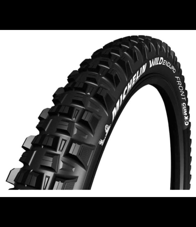 Michelin, Wild Enduro Front, Tire, 27.5''x2.40, Folding, Tubeless Ready, MAGI-X, GravityShield, 60TPI, Black