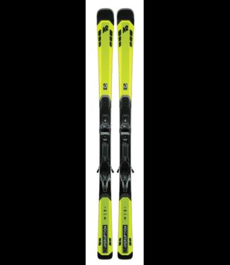 K2 Disruption 82Ti MX QC 2021, Yellow/Black