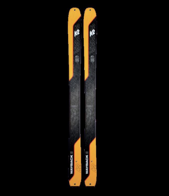 K2 K2, Wayback 106 2021, Black/Orange