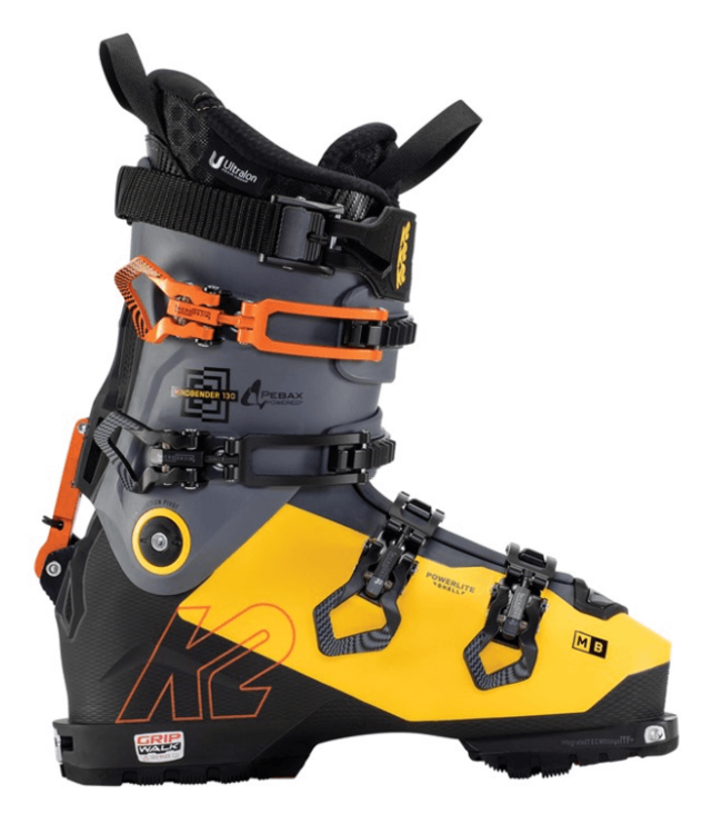 K2 K2, Mindbender 130 GW 2021, Yellow/Gray/Black