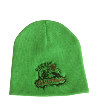 Ghostriders, Embroidered Toque, Green