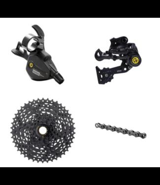 Box Four, Prime9, Groupset: 8 Speed, Multi-Shift Kit, 11-42t, Black
