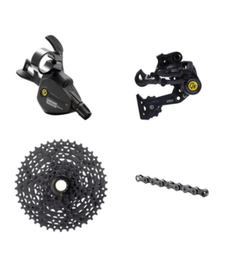 Box, Prime9, Groupset: 8 Speed, Multi-Shift Kit, 11-42t, Black