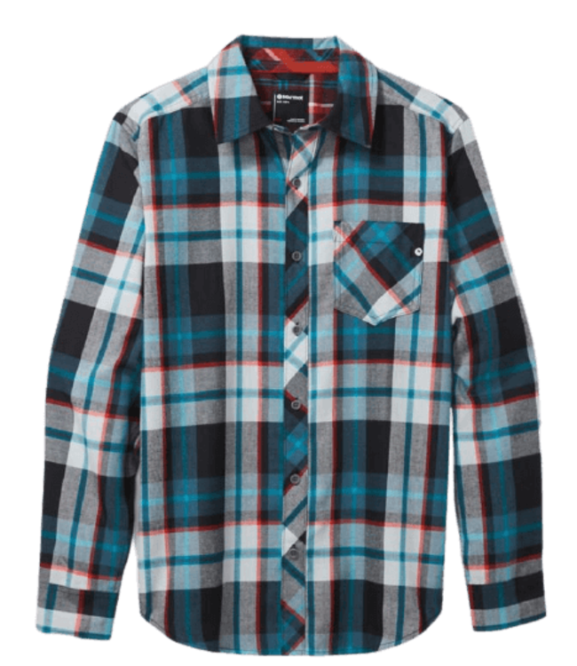 Marmot Marmot, Mens Anderson Lightweight Flannel Long-Sleeve Shirt