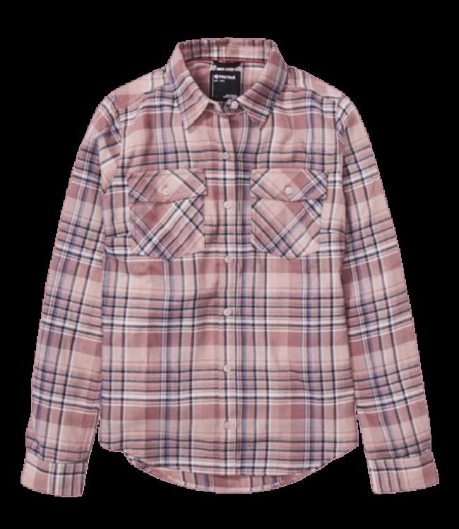 Marmot Marmot, Ws Bridget Midweight Flannel Long-Sleeve Shirt,