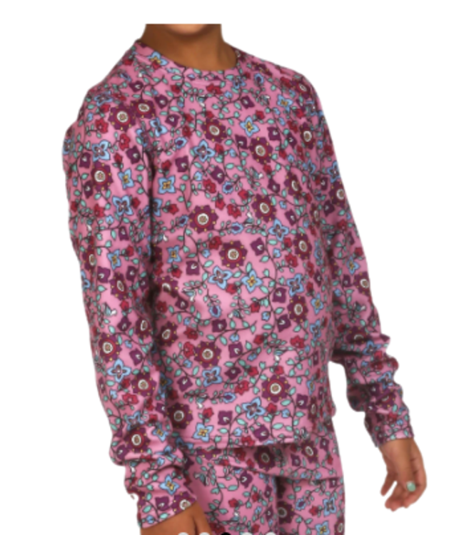 Hot Chillys Hot Chillys, Youth Velvet Fleece Crew