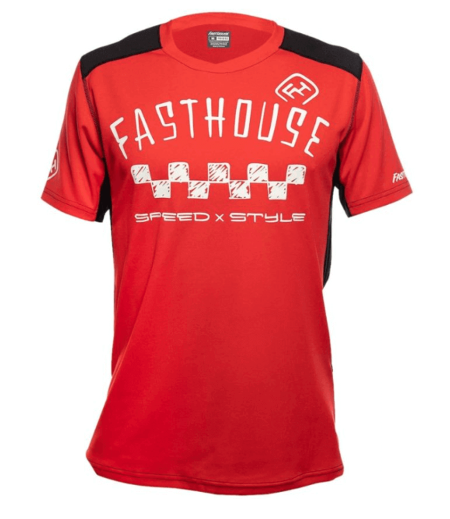 Fast House Fast House, Alloy SS Nelson Youth Jersey, Red, M