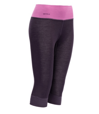 Devold Devold, Ws Wool Mesh 3/4 Long Johns, Figs Purple, S