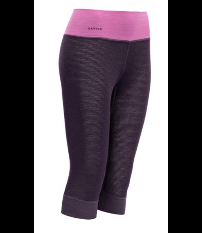 Devold Devold, Ws Wool Mesh 3/4 Long Johns, Figs Purple, S