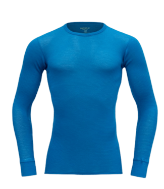 Devold Devold, Ws Wool Mesh Shirt, Skydiver Blue, S