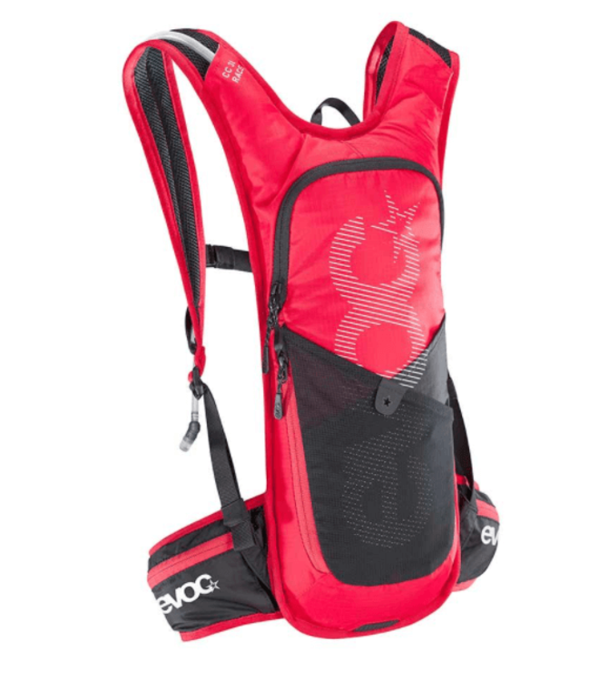 EVOC EVOC, CC 3 Race + 2L Bladder, Hydration Bag, Volume: 3L, Bladder: Included (2L)