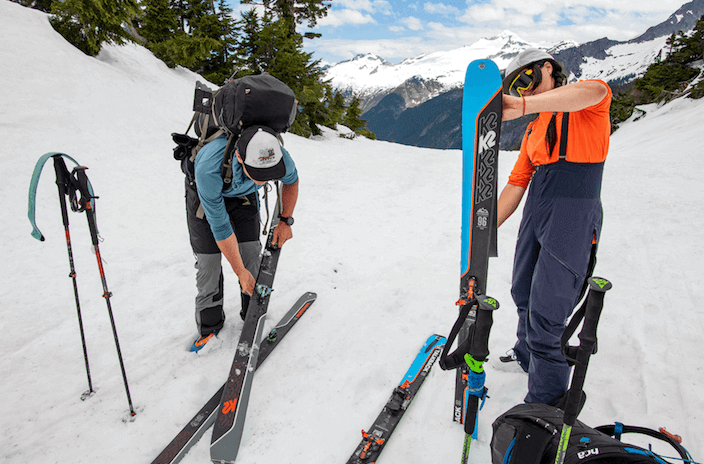 How to Choose, Trim and Attach Ski Climbing Skins