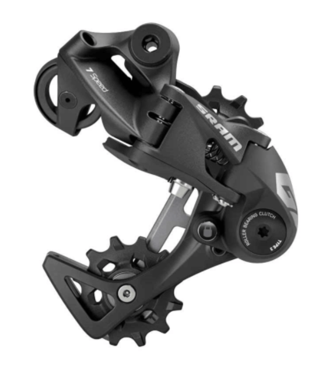 SRAM SRAM, GX DH, Rear Derailleur, Speed: 7, Cage: Medium, Black