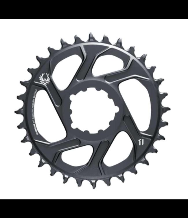 SRAM SRAM, GX Eagle C1, Chainring, Teeth: 30, Speed: 11/12, BCD: Direct Mount, Aluminum, Grey, 3mm