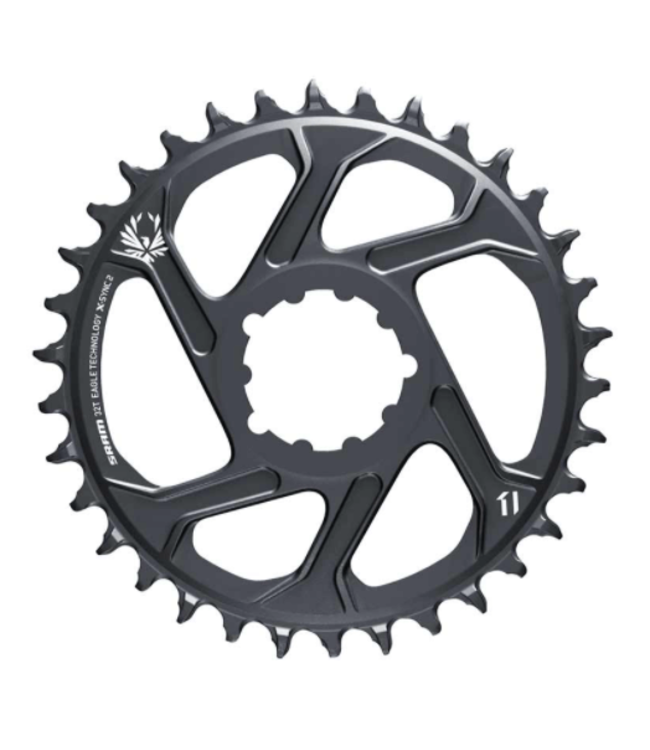 SRAM SRAM, GX Eagle C1, Chainring, Teeth: 32, Speed: 11/12, BCD: Direct Mount, Aluminum, Grey, 3mm