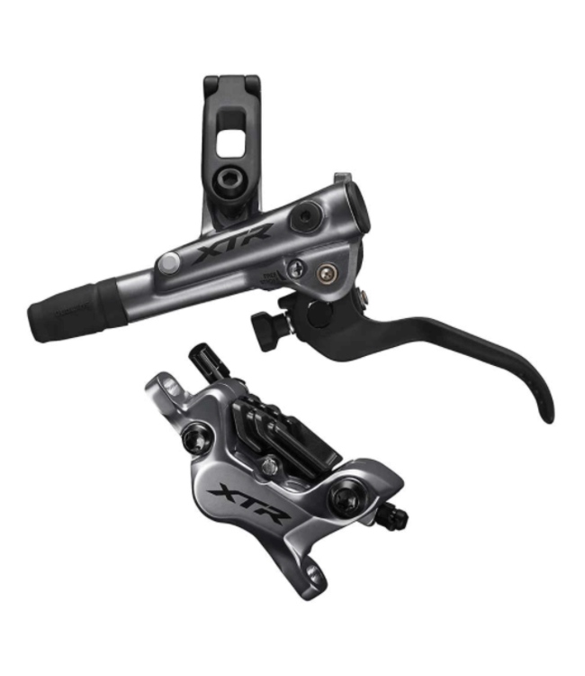 Shimano, XTR  BL/BR-M9120, MTB Hydraulic Disc Brake, Front, Post mount, Disc: Not included, 385g, Black, Kit