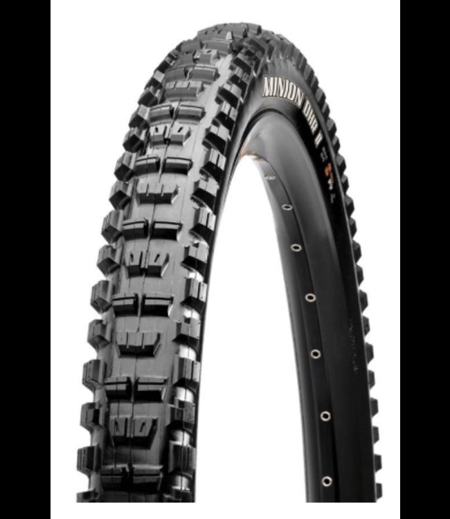 Maxxis Maxxis, Minion DHR2, Tire, 29''x2.40, Folding, Tubeless Ready, 3C Maxx Grip, Double Down, Wide Trail, 120x2TPI, Black