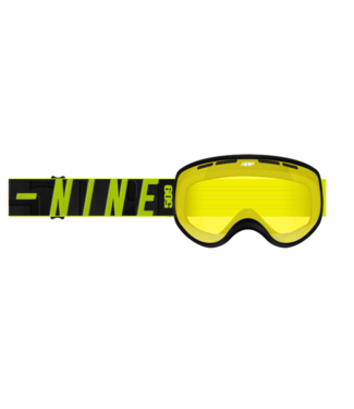 509 509, Ripper Youth Snow Goggle, Hi-Vis, Black